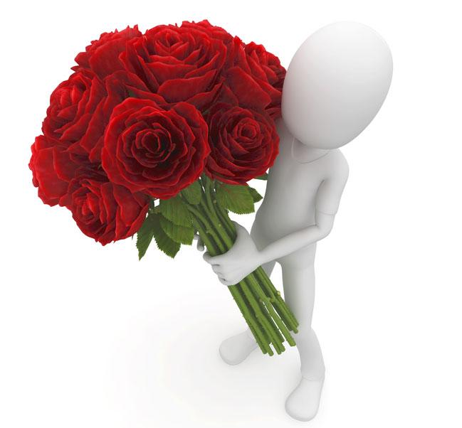 Цветы для любимки фото