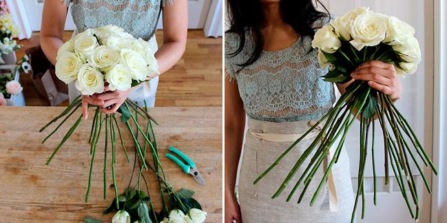 Как собрать букет из цветов своими руками пошагово