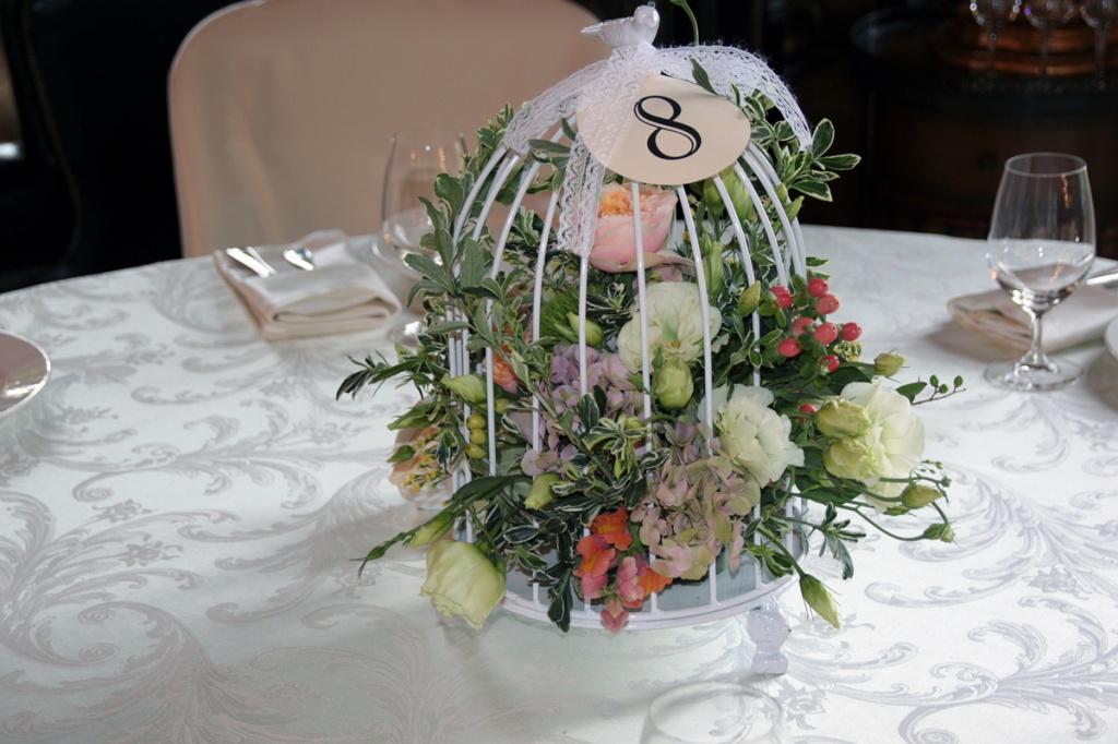 Украшения на свадьбу мастер класс на стол